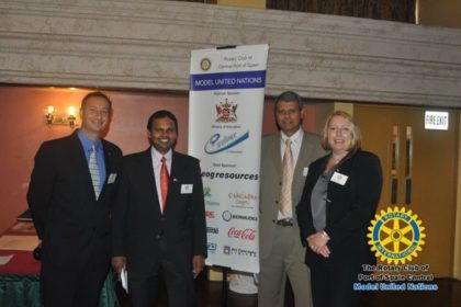 The Rotary Club of Central Port-of-Spain's Model United Nations (MUN)