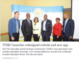 The Trinidad and Tobago Securities and Exchange Commission (TTSEC) Website